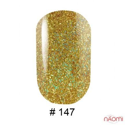 Гель-лак G.La color 147 золотой с цветными шиммерами, 10 мл, фото 1, 80.00 грн.