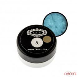 3D Гель-пластилин KOTO 08 голубой, 5 г