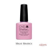 CND Shellac Art Vandal Mauve Maverick, ніжно-рожевий емаль, 7,3 мл