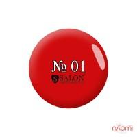 Акриловая краска Salon Professional 01 красная, 3 мл