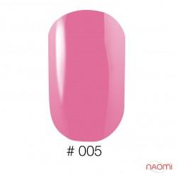 Лак Naomi 005 розовый, 12 мл