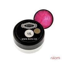 3D Гель-пластилин KOTO 15 ярко-розовый, 5 г