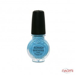 Специальный лак для стемпинга KONAD 11 мл. - Pastel Blue / голубой S20
