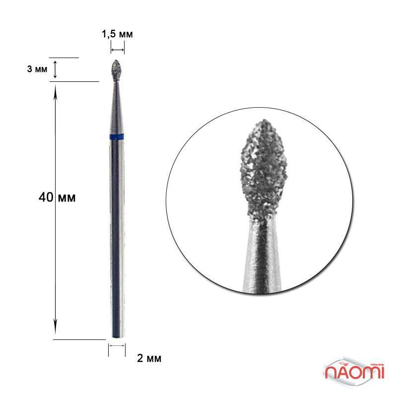 Насадка с алмазным напылением 96с-016, для выпиливания  труднодоступных участков под ногтем, фото 1, 40.00 грн.