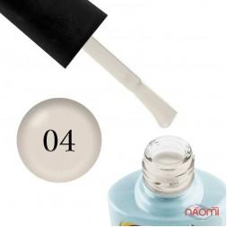 Гель-лак Yo nails Sweety № 04, 8 мл, цвет серо-бежевый, плотный, эмалевый