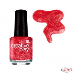 Лак CND Creative Play 414 Flirting With Fire, красный, 13,6 мл