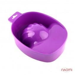 Ванночка для маникюра, цвет фиолетовый