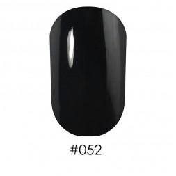 Лак Naomi 052 черный, 12 мл