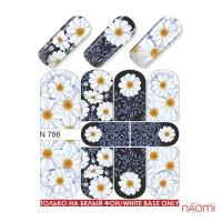 Слайдер-дизайн N 786 Цветы
