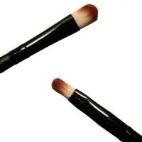 Пензель PARISA для макіяжу Р25, для тіней подвійний, синтетика