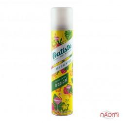 Сухой шампунь для волос - Batiste Dry Shampoo, Tropical Coconut&exotic, 200 мл