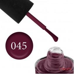 Лак NUB 045 Retro Matte вишнево-виноградный, 14 мл