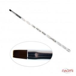 Кисть для геля YRE Nail Art Bruch YKGK 04, прямая, искусственный ворс, витая ручка
