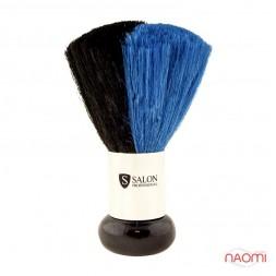Мітелка для волосся, чорно-синя, ворс 5 см