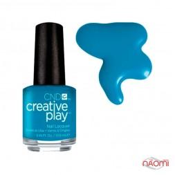 Лак CND Creative Play 437 Skinny Jeans, голубой, 13,6 мл
