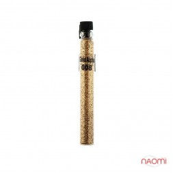 Блестки Salon Professional, размер 008 Gold Alpha цвет золото, в пробирке