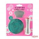 Набор для стемпинга Stamping Nail Art SG 04 (K-174), штамп, скрапер и пластина, фото 1, 80.00 грн.