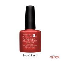 CND Shellac Craft Culture Hand Fired, бургунді-бордо, 7,3 мл