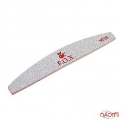 Пилка для искуственных ногтей F.O.X 100/100, полукруг