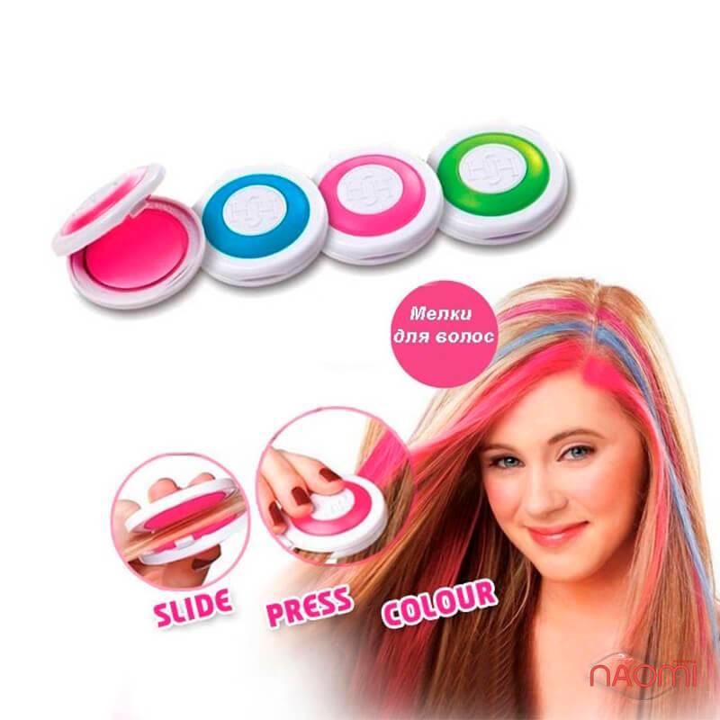 Мелок-пудра для волос, цвет розовый, фото 3, 40.00 грн.