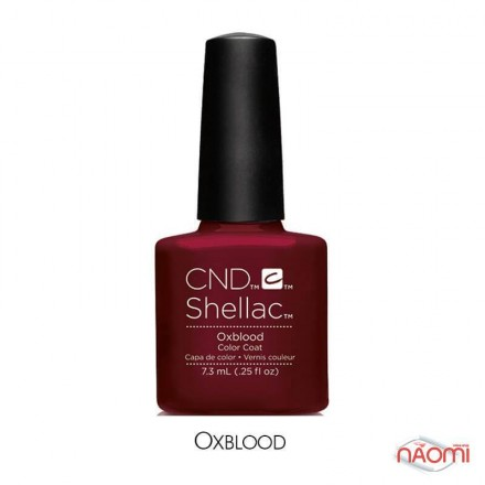 CND Shellac Craft Culture Oxblood бордово-винный, 7,3 мл, фото 1, 299.00 грн.