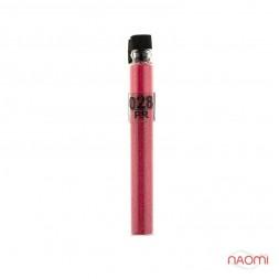 Блестки Salon Professional, размер PR 028, цвет малиновый, в пробирке