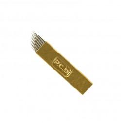 Игла для микроблейдинга PCD 12 контактов 0,25 мм