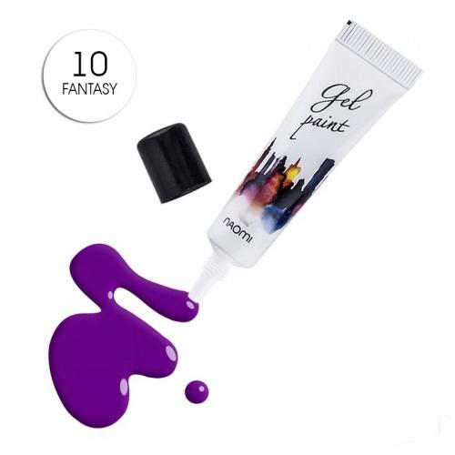 Гель-паста Naomi № 10 Fantazy фиолетовый, 10 г, фото 1, 185.00 грн.