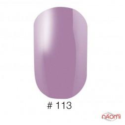 Лак Naomi 113 нежный сиреневый с матовым эффектом, 12 мл