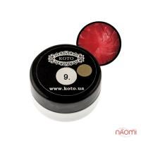 3D Гель-пластилин KOTO 09 красный, 5 г