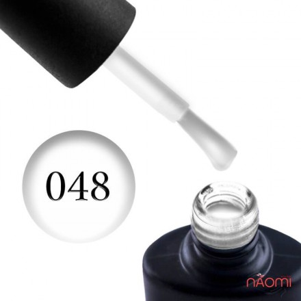 Гель-лак NUB 048 Whithe Collar белый, 8 мл, фото 1, 115.00 грн.