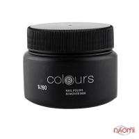 Диво-баночка Colours для зняття лаку 100 мл, колір чорний