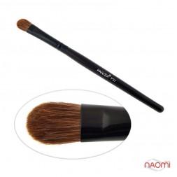 Кисть для макияжа PARISA Р37, для теней, натуральный ворс, пони