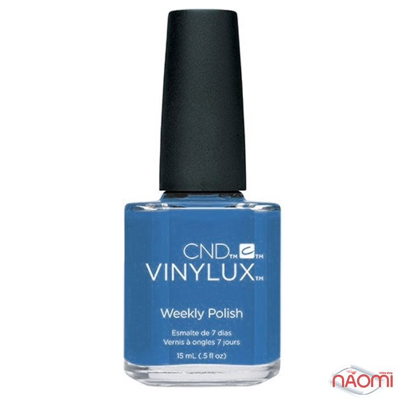 Лак CND Vinylux Flirtation 221 Date Night, насыщенный синий, 15 мл, фото 1, 149.00 грн.