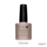CND Shellac Cityscape светлый молочно-серый, 7,3 мл
