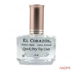 Топ-сушка для лаку El Corazon №417 Quick Dry Top Coat, 16 мл