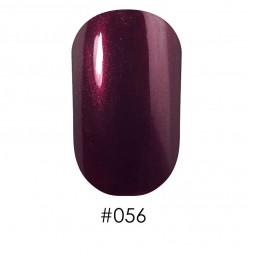 Лак Naomi 056 бордово-лиловый, 12 мл