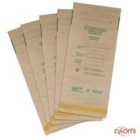 Крафт пакеты Медтест для паровой и воздушной стерилизации, 100х200 мм, 5 шт