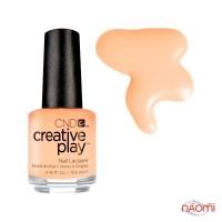 Лак CND Creative Play 461 Clementine Anytime, бежевий, 13,6 мл