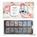 Пластина для стемпинга MoYou London серии Flower Power Collection 16 Кружева, цветы, фото 2, 225.00 грн.