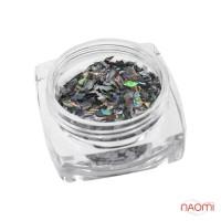 Декор для нігтів Salon Professional Ромбики, колір Silver alpha 008, срібло