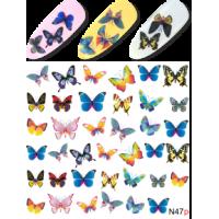Слайдер-дизайн N 047 p Бабочки