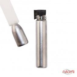 Блестки для украшения ногтей, цвет серебро, в пробирке, 8 г