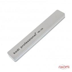 Профессиональный бафик для ногтей Kodi Professional 180/220 прямоугольный