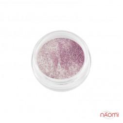Акриловая пудра My Nail № 034, цвет белый с розовыми блестками, 2 г