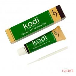 Краска для бровей и ресниц Kodi Professional № 4 Black, цвет чёрный, 15 мл