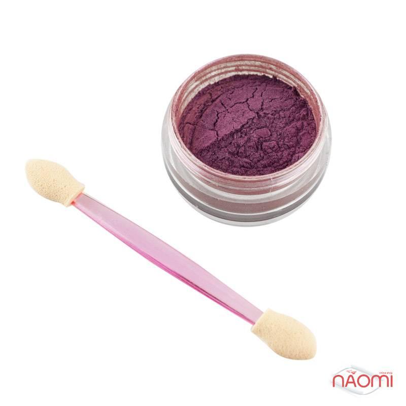 Зеркальная пудра для втирки Naomi 07, цвет розовый, 3 г, фото 1, 165.00 грн.
