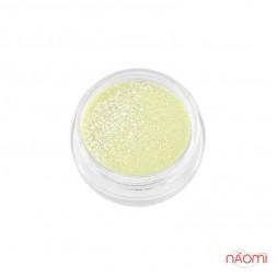 Акрилова пудра My Nail № 94, колір лимонний з мікроблиском, 2 г
