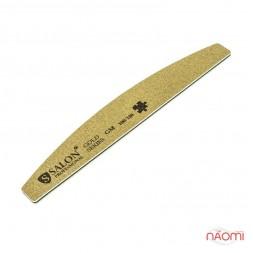 Пилка для ногтей Salon Professional 100/100 GOLD, полукруг