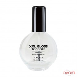 Топ для мега-яркого блеска Naomi XXL Mega Gloss 75 мл